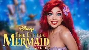 princess ariel little mermaid makeup tutorial