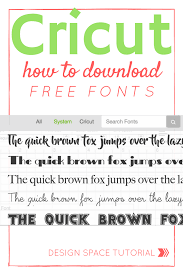 Free Cricut Design Downloads How To Get Free Fonts For Cricut Design Space Free Fonts