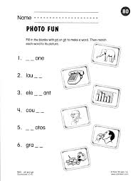 Rhyming Worksheets For Grade Free Printable Third Phonics Arts First ...