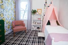 Lemon Wallpaper Little Girlu0027s Room 8