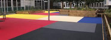 rubber playground flooring soft surfaces ltd the uk39s leading playground flooring
