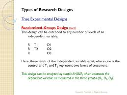 Simple True Experimental Design Ppt Chapter 18 Experimental And Quasi Experimental