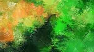 Very Dark Green Color Brushed Stroke ...