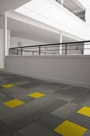 carpet tile design ideas modern. Zesty Mono In Action With Interface Carpet Tiles (Histonium-Palette2000_Cupello-Canary) Tile Design Ideas Modern I