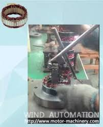 Simple Automobile alternator stator manual insert Winding Machine