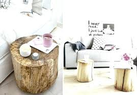 wood stump end table home tree stump coffee tables end table base wood stump side table