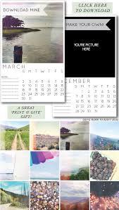 Customizable Calendar 2015 Customizable Instagram Calendar Going Home To Roost