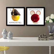 abstract painting fruit and vegetable modern oil painting print on canvas wall art home decor free no frame in painting calligraphy from home