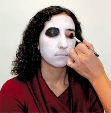 a step by step guide on mastering the easiest skeleton makeup