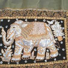 antique beautiful thai elephant