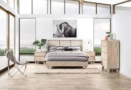 King Bedroom Suite For Portland 4 Piece King Bedroom Suite Super A Mart