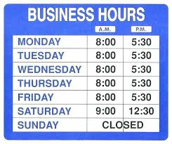 template office opening hours sign template seekingfocus co