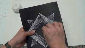 Geometric String Art Patterns Simple Geometric String Art Project 48 YouTube