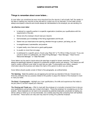 Resume Cover Letter Salutation Unknown Recipient Best Cover Letter