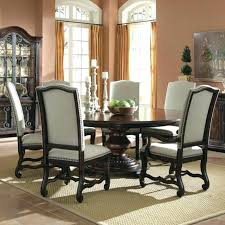 6 people dining table inch round for tables small chairs circular and black kitch
