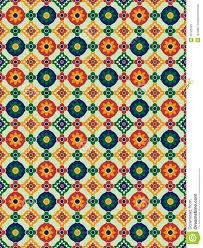 Pattern In Spanish Awesome Spanish Mosaic Stock Vector Illustration Of Image Illustration