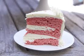 slice of strawberry cake. Fine Slice Cake Desserts Heavenly Strawberry Recipe With Slice Of O