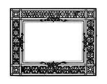 black and gold frame png. Media,clip Art,public Domain,image,png,svg,frame, Black And Gold Frame Png