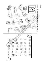 Letter g beginning sound color pictures worksheet. Phonics Letter M Esl Worksheet By Dianasuarez32