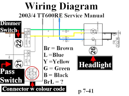 ktm light switch wiring diagram ktm image wiring xt 600 wiring diagram jodebal com on ktm light switch wiring diagram