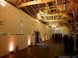 ceiling up lighting. fairy light canopy with uplighting at ufton court ceiling up lighting