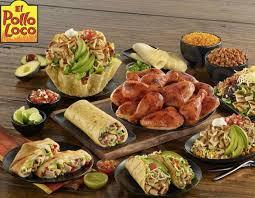 el pollo loco menu with s