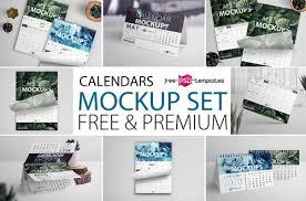 22 Free Desk Calendar Mock Ups In Psd And Premium Version