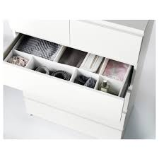 Ikea Shoe Drawers Malm Chest Of 6 Drawers White 80x123 Cm Ikea