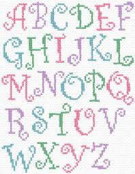Cross Stitch Alphabet Patterns Awesome 48 Best Simple Cross Stitch Alphabet Patterns Ideas