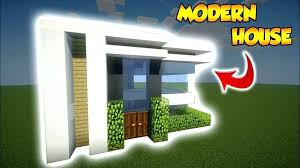 modern minecraft house small modern house small modern house tutorial how to build a cool modern house in minecraft modern house tutorial keralis