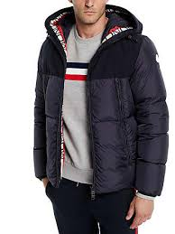 Moncler Mens Montclar Hooded Puffer Jacket