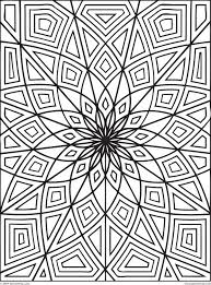 Small Picture Free Geometric Coloring Pages For Adults Free Geometric Coloring