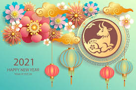 Sometimes it refers to year of the bull and year of the cow in chinese calendar. Chinese New Year 2021 Wallpaper Happy Year Of Ox 2021 Cow Bull In 2021 Chinese New Year Greeting Chinese New Year Chinese New Year Wallpaper