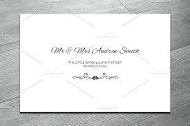 Envelope Template Word Wedding Money Minted Address