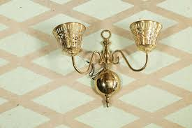 brass wall sconce from re