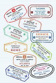 Passport stamp design free vector download (789 Free vector) for ...