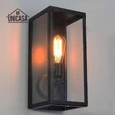 industrial lighting bathroom. Black Indoor Wall Lights Kitchen Lobby Bathroom Antique Sconces Vintage Industrial Lighting Loft Wrought Iron LED Lamp-in Lamps E