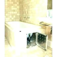 plumbing access panel ideas door sizes tiled shower bathrooms photos acces
