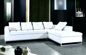modern white sectional. Modern White Leather Sectionals Furniture Sectional Sofa .