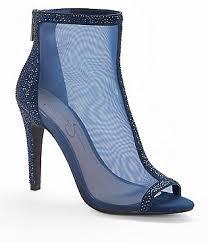 dillards wedding shoes. jessica simpson energee rhinestone detail back zip shooties dillards wedding shoes p