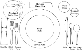 formal dining place setting picture. semi formal table setting etiquette clipart dining place picture g