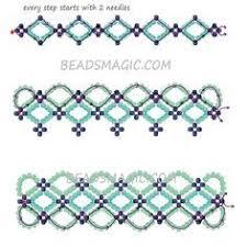 Seed Bead Patterns Best Heart To Heart Bracelet Beading Pattern Simple Bead Patterns