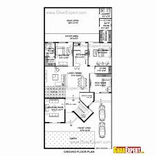 great house plan x plans west facing north duplex for 20 60 endearing 20 x