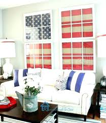 red and blue living room white brown ideas in cream walls
