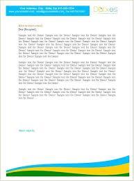 Letterhead Business Letter Sample Business Letterheads Best Business Letterhead Design Sample