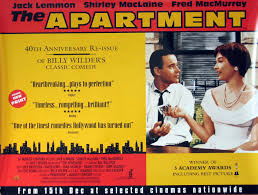 The Cleveland Movie Blog The Apartment August 9th At The Palace