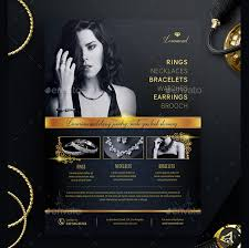 Jewelry Flyer 26 Jewelry Flyer Templates And Designs Word Psd Ai