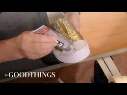 Good Things: DIY <b>Glitter</b> and <b>Rhinestone Sneakers</b> - Martha Stewart ...