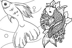 Small Picture KidscolouringpagesorgPrint Download fish tank coloring pages