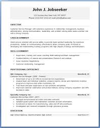 18 Resume Templates Microsoft Word The Principled Society